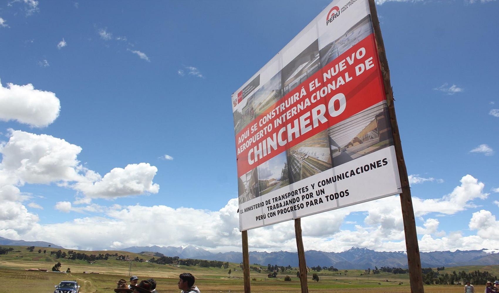 Construcción del Aeropuerto Internacional de Chinchero no se detendrá