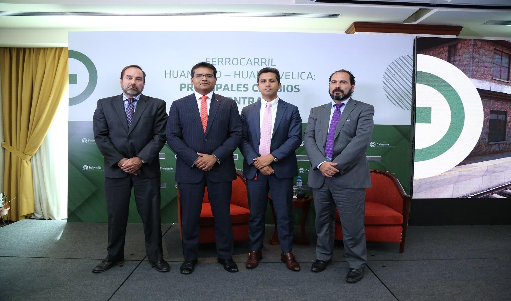 Invertirán más de US$ 226 millones para modernizar Ferrocarril Huancayo-Huancavelica