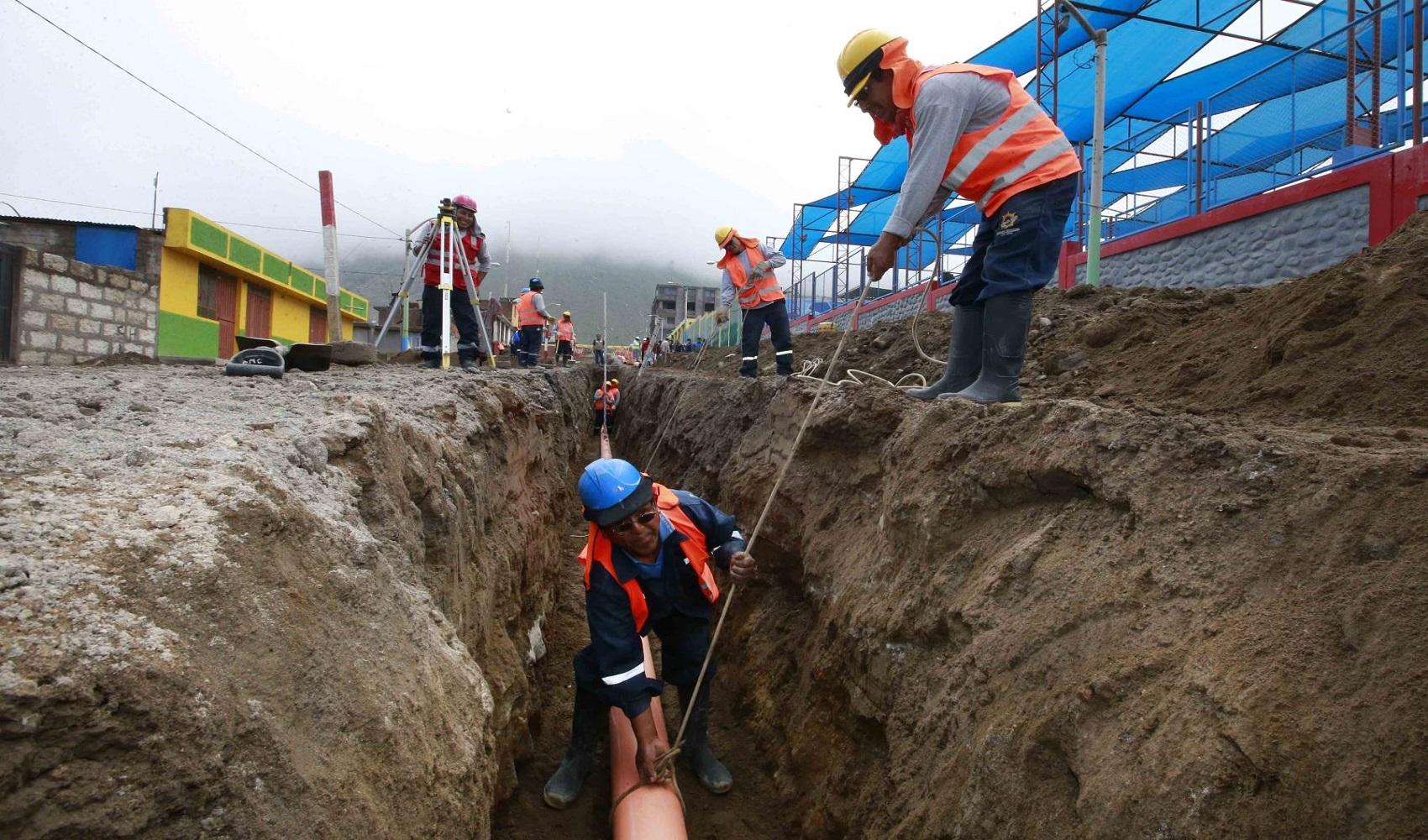 Transfirieron S/83 millones para 31 proyectos de saneamiento en Cusco