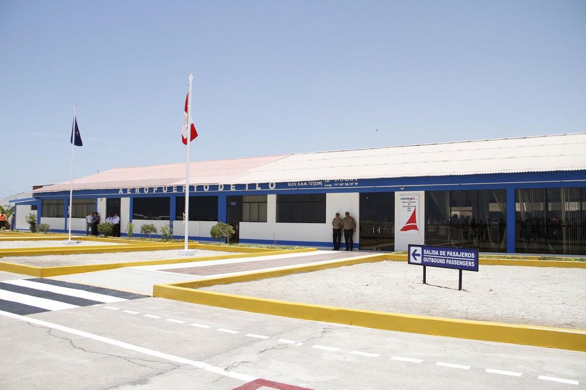 MTC evaluará los estudios para ampliar el aeropuerto de Moquegua