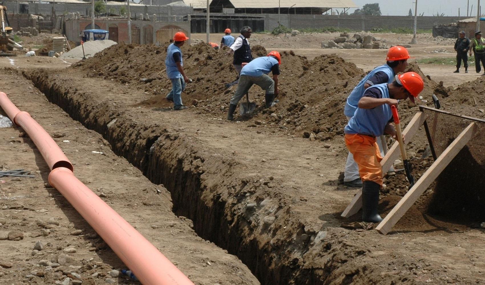 Piura: Invertirán S/3.8 millones en obra de agua y saneamiento en Morropón