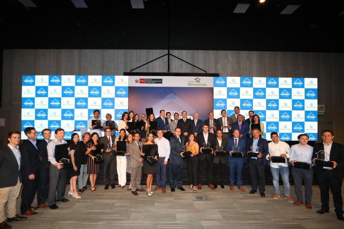 MVCS premia a empresas con mejor gestión en vivienda social del 2019