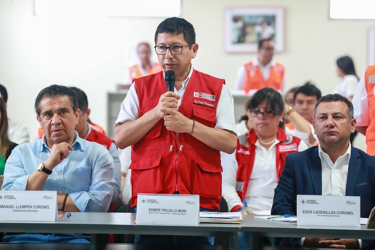 Edmer Trujillo renuncia a su cargo como ministro de Transporte y Comunicaciones