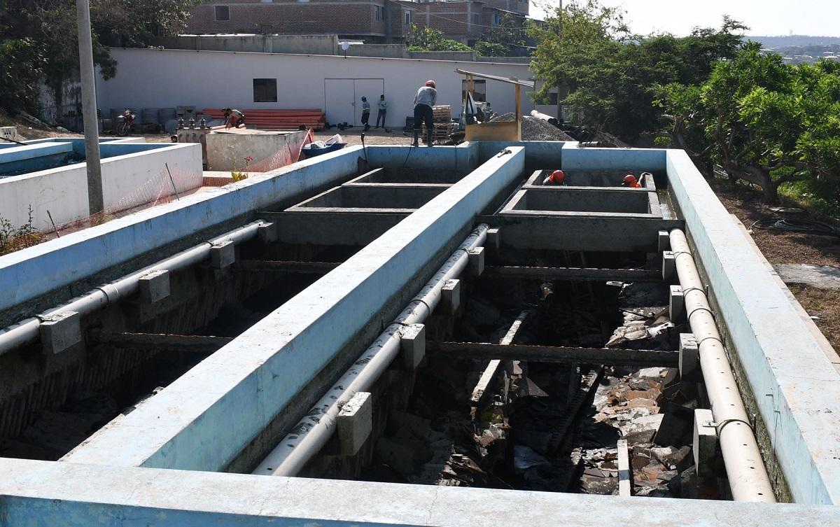 Rehabilitación de planta de agua El Milagro beneficiará a 23,000 familias en Tumbes