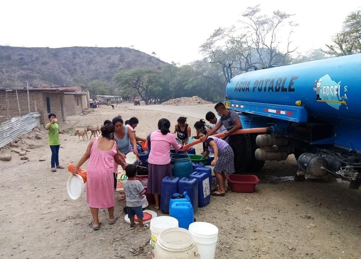 Lambayeque: brindan agua potable a más de 3,000 familias vulnerables de Motupe y Olmos