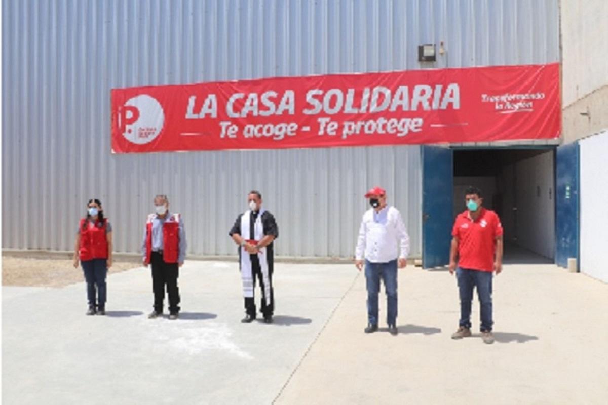 Se inauguró Casa Solidaria en Piura que atenderá a 600 pacientes con Covid-19