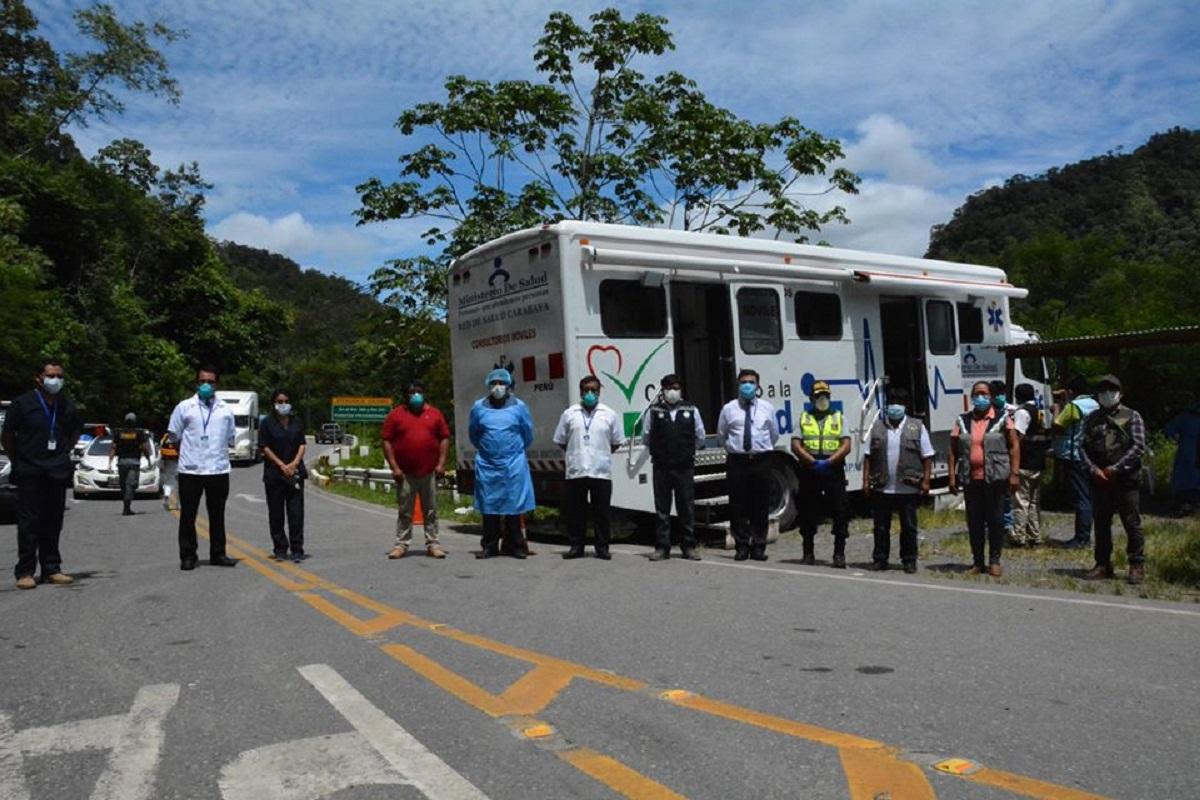 Instalan consultorios móviles para control de coronavirus entre Madre de Dios y Cusco