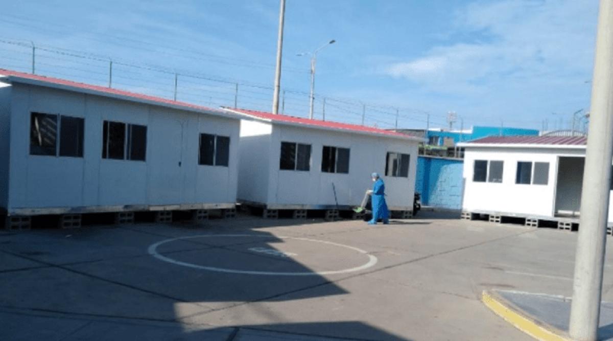 MVCS instaló más de 100 módulos de vivienda para enfrentar Covid-19