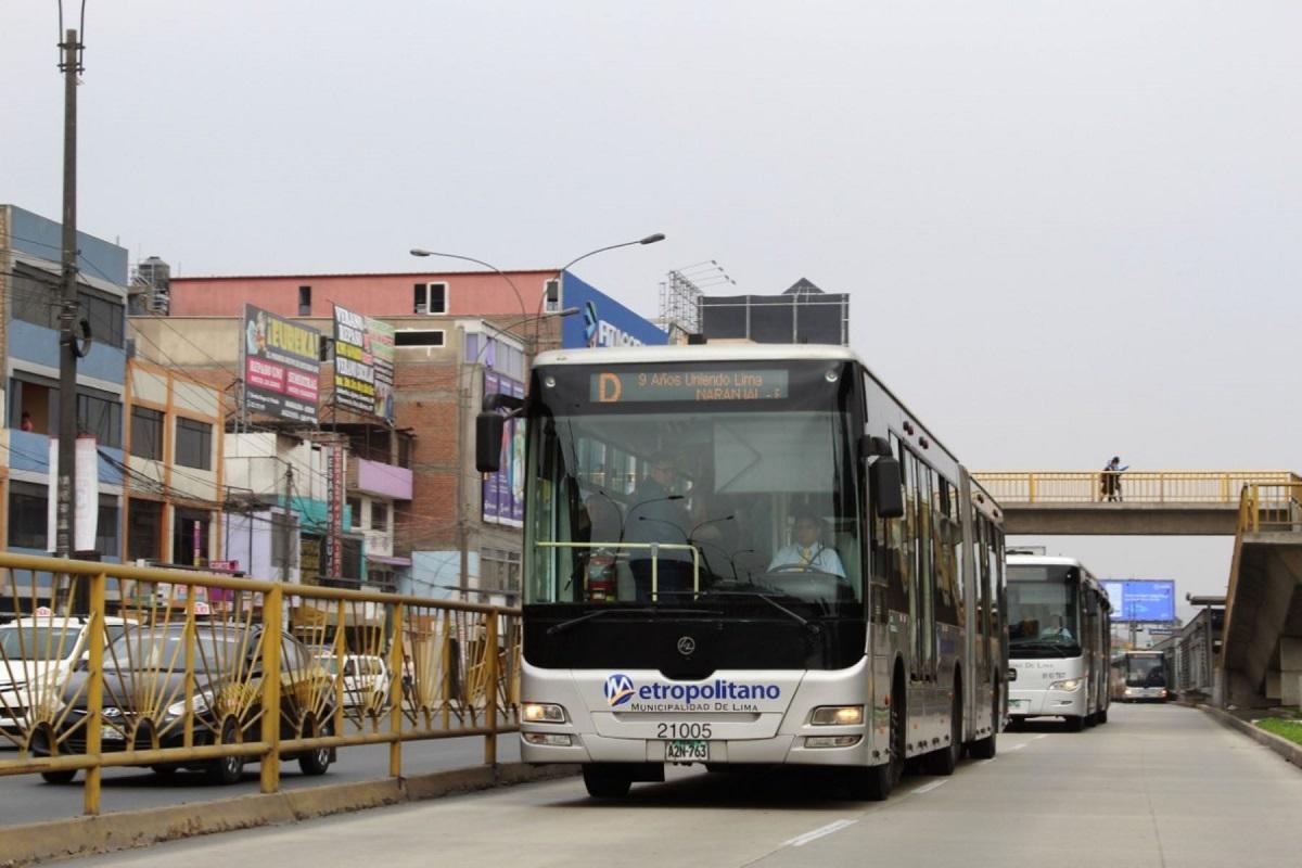 Aprueban endeudamiento para ampliar Metropolitano hasta Carabayllo