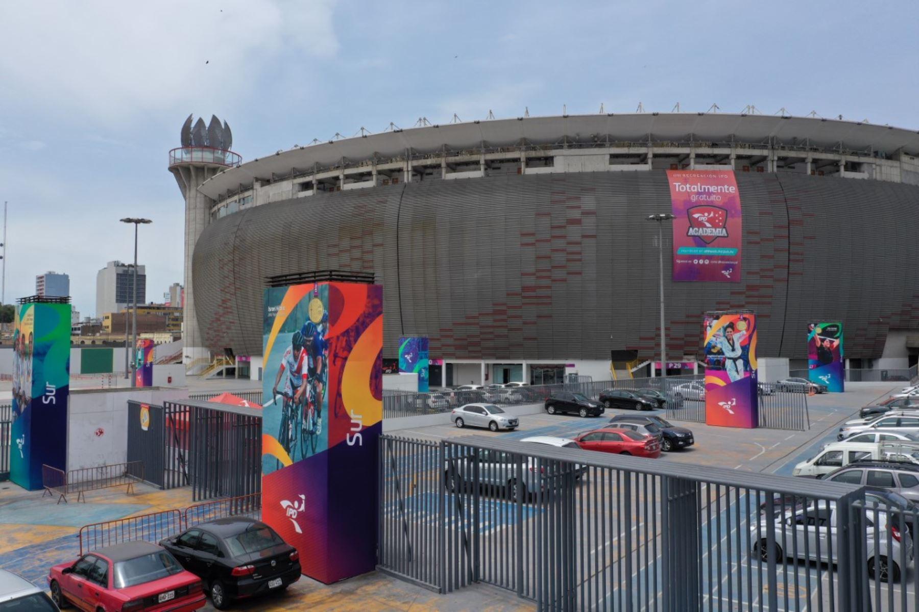El Estadio Nacional se suma a la lucha contra la pandemia del Covid-19 -  PerúConstruye