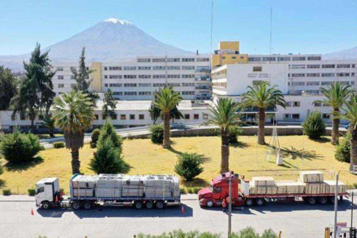 Arequipa: Honorio Delgado y Goyeneche contarán con hospitales temporales