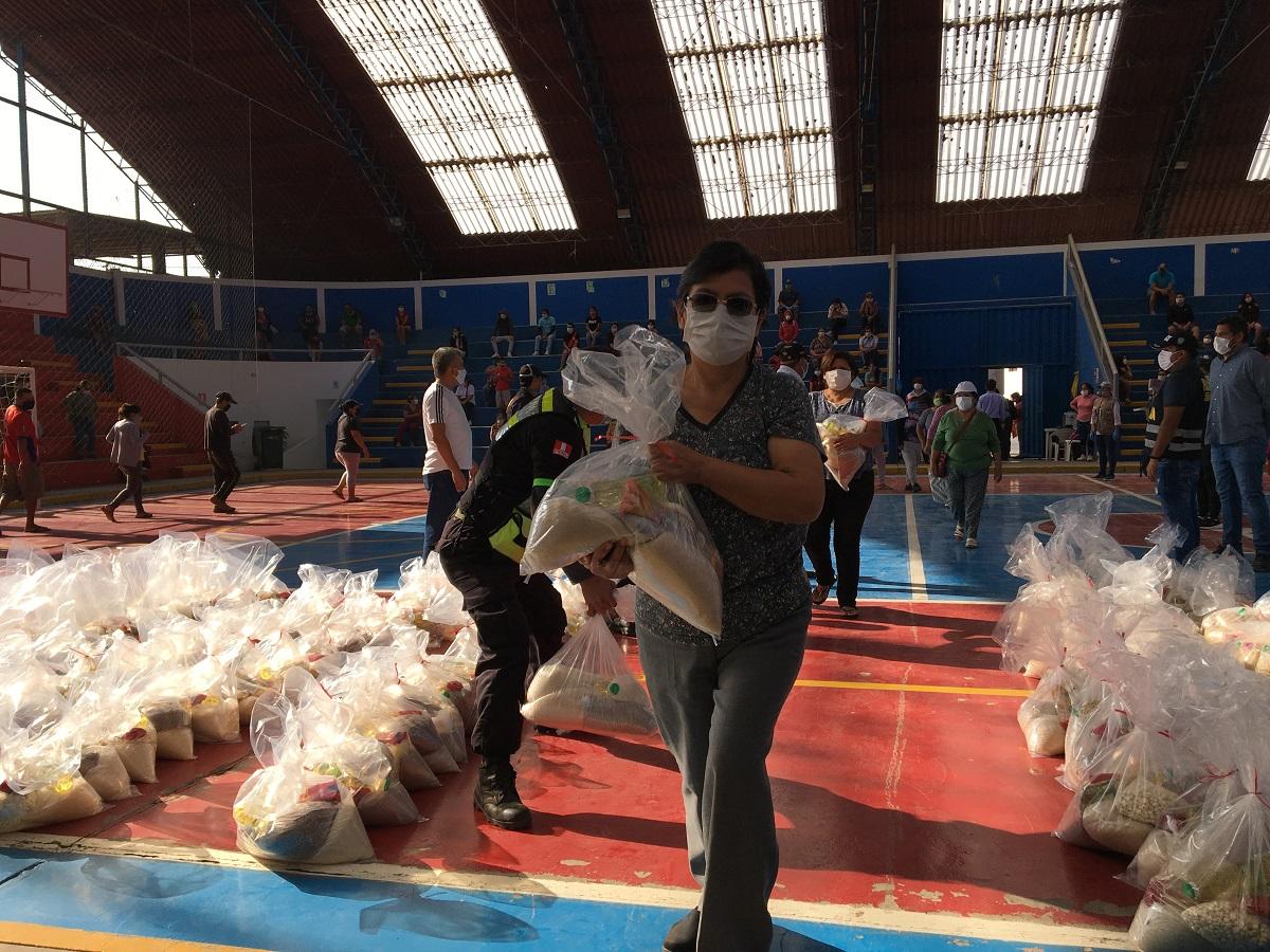 Menorca realiza donativo a familias afectadas por el Covid-19