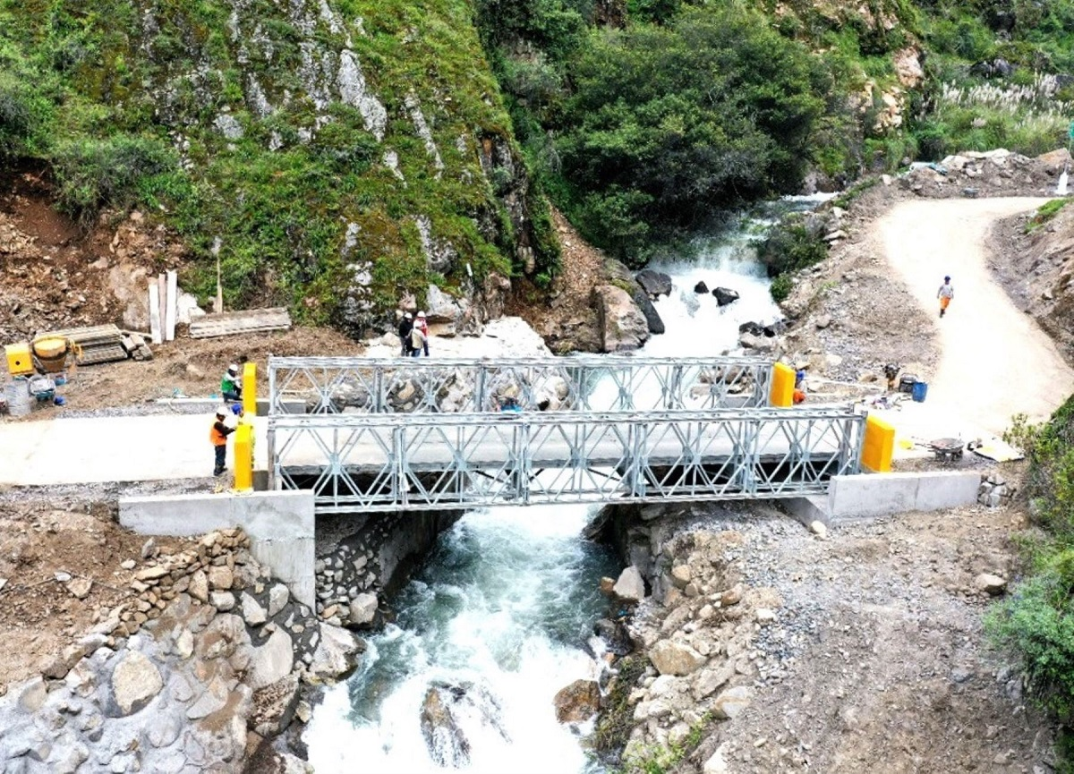 Ministerio de Transportes prioriza la ejecución de 15 nuevos puentes modulares en Áncash