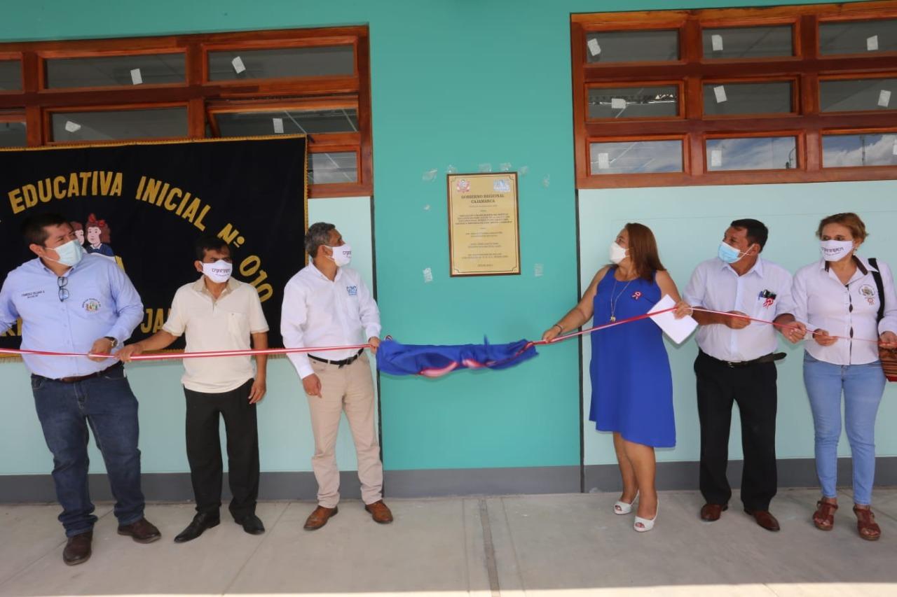 Gore Cajamarca inauguró Jardín de Infancia N° 10 Miraflores en Jaén