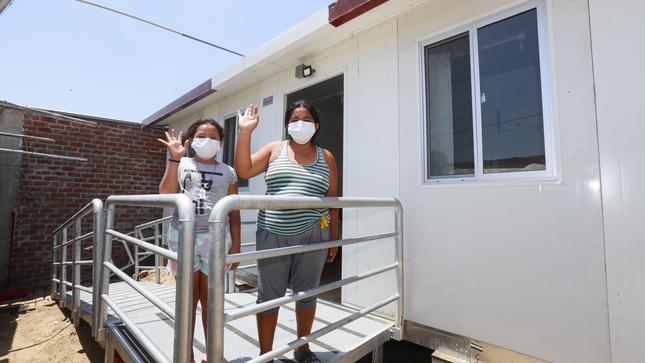 Piura: Comenzó instalación de 185 módulos para damnificados por sismo en Marcavelica