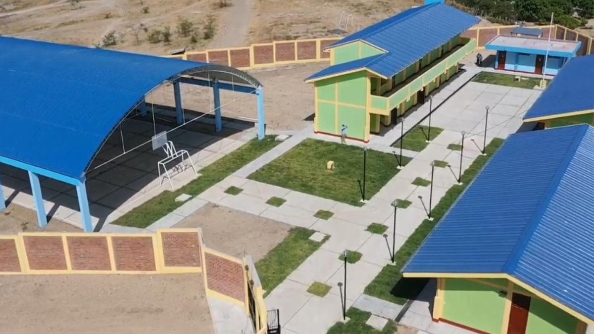 ARCC: Inauguran 3 colegios en Tambogrande