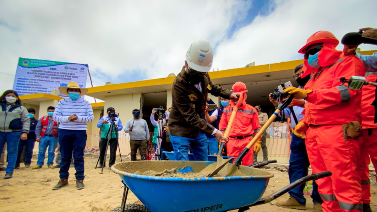 Arequipa: Inician obra de ampliación del centro de salud Deán Valdivia en Islay
