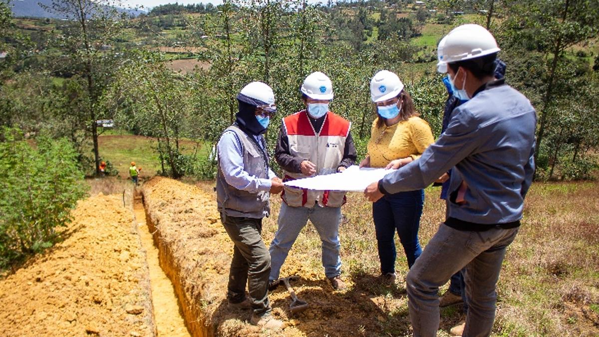 Cajamarca: Avanzan obra de agua y saneamiento en 14 localidades de Cutervo